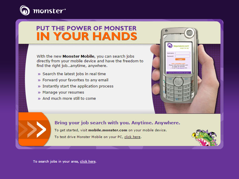 Monster Landing Pages